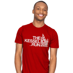 The Kessel Run - Mens - T-Shirts - RIPT Apparel