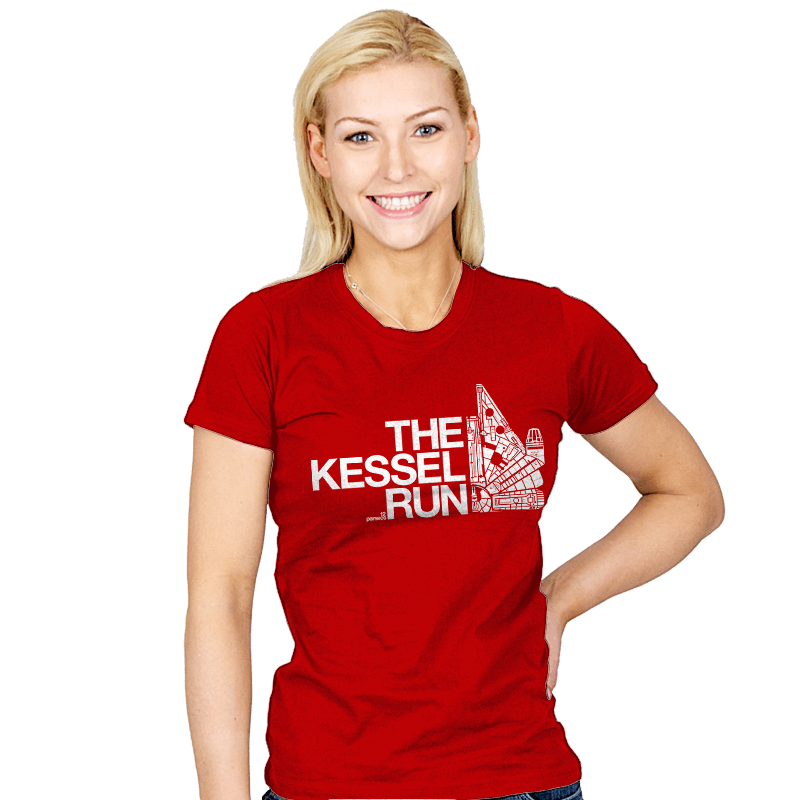 The Kessel Run - Womens - T-Shirts - RIPT Apparel