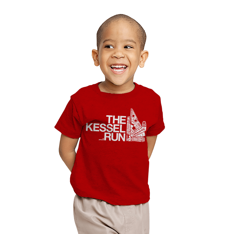 The Kessel Run - Youth - T-Shirts - RIPT Apparel