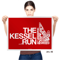 The Kessel Run - Prints - Posters - RIPT Apparel