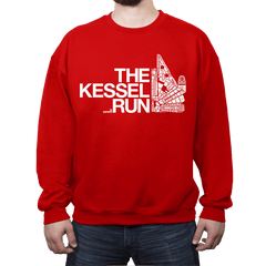 The Kessel Run - Crew Neck - Crew Neck - RIPT Apparel