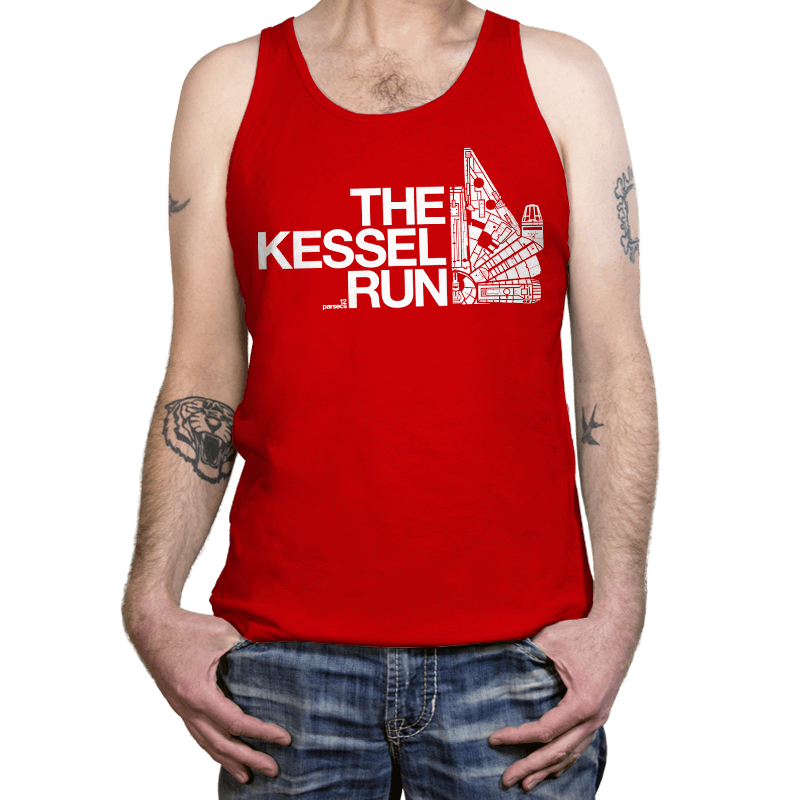The Kessel Run - Tanktop - Tanktop - RIPT Apparel