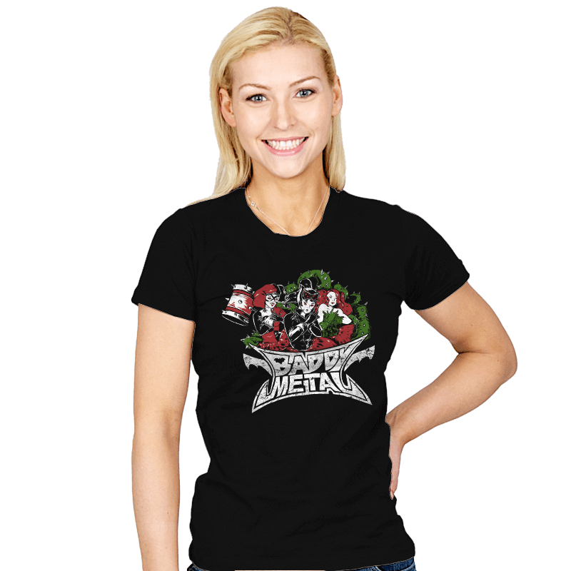 Baddy Metal - Womens - T-Shirts - RIPT Apparel