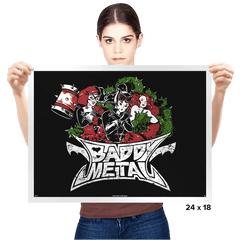 Baddy Metal - Prints - Posters - RIPT Apparel