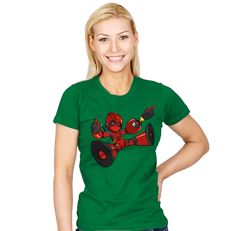 Mega Pool - Womens - T-Shirts - RIPT Apparel