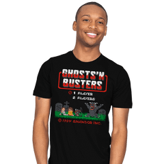 Ghosts 'N Busters - Mens - T-Shirts - RIPT Apparel
