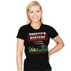Ghosts 'N Busters - Womens - T-Shirts - RIPT Apparel