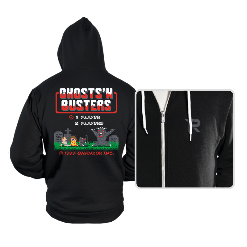 Ghosts 'N Busters - Hoodies - Hoodies - RIPT Apparel