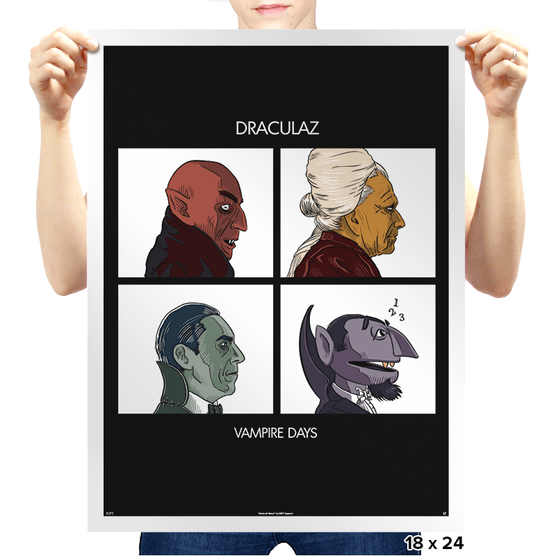 Draculaz - Vampire Days - Prints - Posters - RIPT Apparel