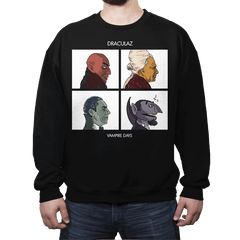 Draculaz - Vampire Days - Crew Neck Sweatshirt - Crew Neck Sweatshirt - RIPT Apparel