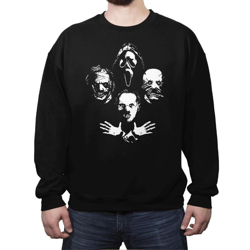 Serial Rhapsody - Crew Neck Sweatshirt - Crew Neck Sweatshirt - RIPT Apparel