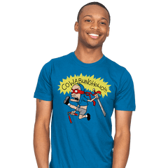COWABUNGHOLIO! - Mens - T-Shirts - RIPT Apparel