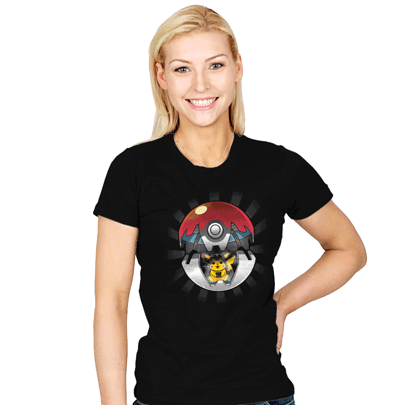 Pika Choose The Dark Side Exclusive - Womens - T-Shirts - RIPT Apparel