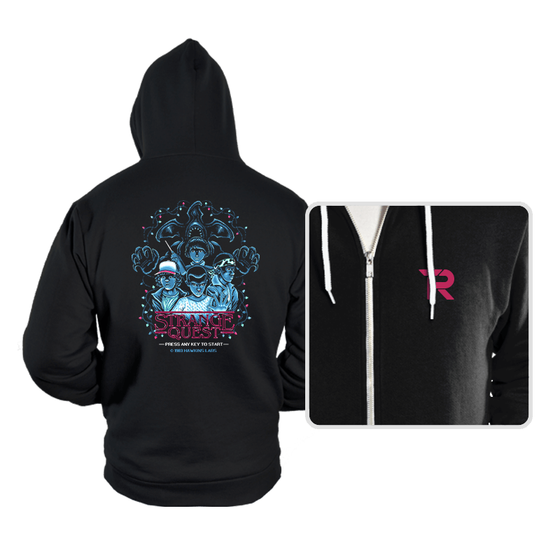 Strange Quest 1983 - Hoodies - Hoodies - RIPT Apparel