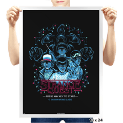 Strange Quest 1983 - Prints - Posters - RIPT Apparel