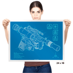BP DL-44 - Prints - Posters - RIPT Apparel