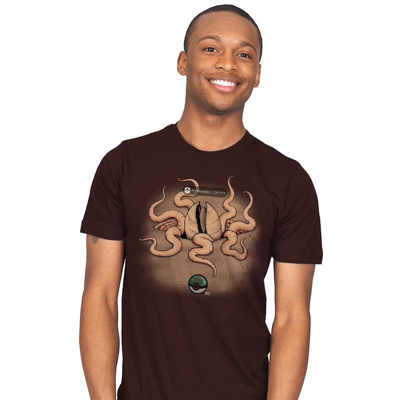 Galactic Monster Go - Pit Monster - Mens - T-Shirts - RIPT Apparel
