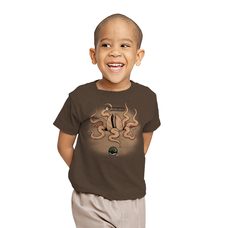 Galactic Monster Go - Pit Monster - Youth - T-Shirts - RIPT Apparel