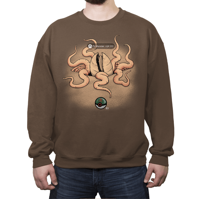 Galactic Monster Go - Pit Monster - Crew Neck - Crew Neck - RIPT Apparel