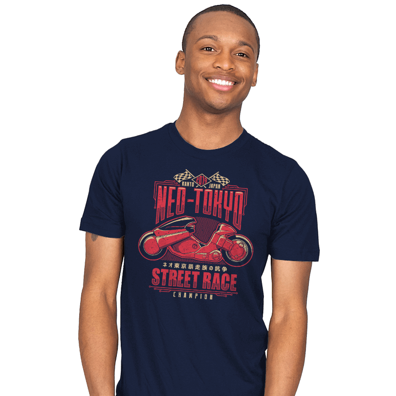 Neo Toyko Street Racing Champion - Mens - T-Shirts - RIPT Apparel