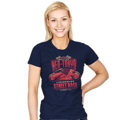 Neo Toyko Street Racing Champion - Womens - T-Shirts - RIPT Apparel