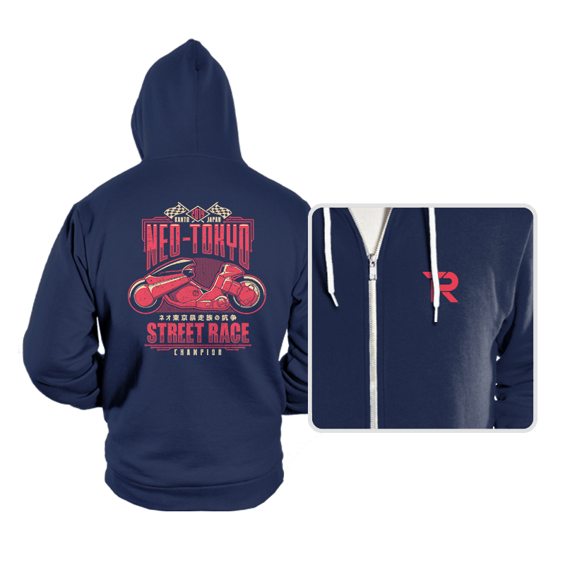 Neo Toyko Street Racing Champion - Hoodies - Hoodies - RIPT Apparel