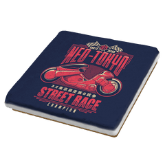 Neo Toyko Street Racing Champion - Coasters - Coasters - RIPT Apparel