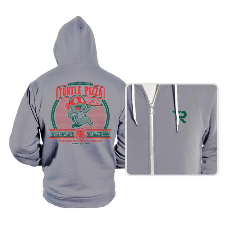 Turtle Pizza - Hoodies - Hoodies - RIPT Apparel
