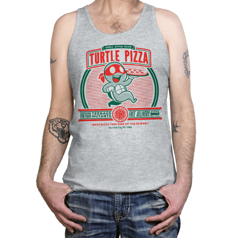 Turtle Pizza - Tanktop - Tanktop - RIPT Apparel