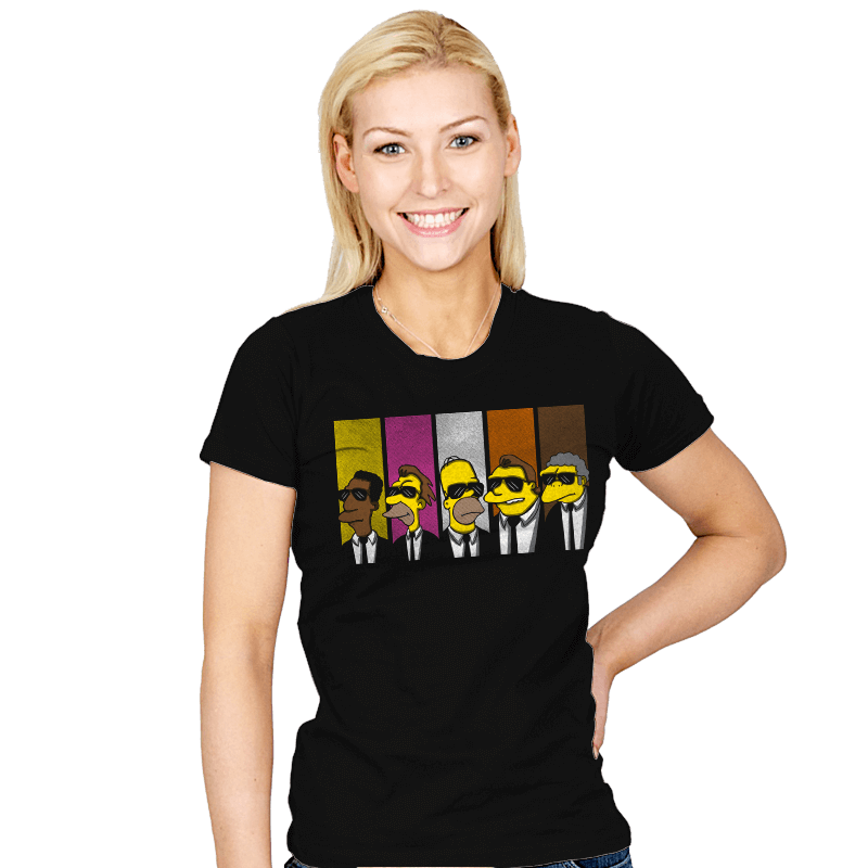 Reservoir Simpsons - Womens - T-Shirts - RIPT Apparel