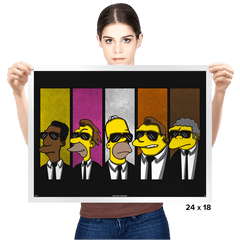 Reservoir Simpsons - Prints - Posters - RIPT Apparel