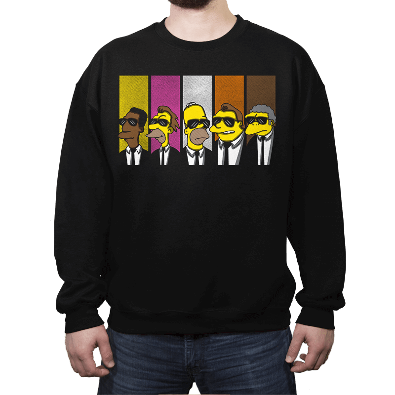 Reservoir Simpsons - Crew Neck - Crew Neck - RIPT Apparel