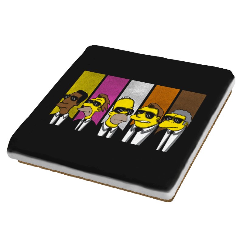 Reservoir Simpsons - Coasters - Coasters - RIPT Apparel