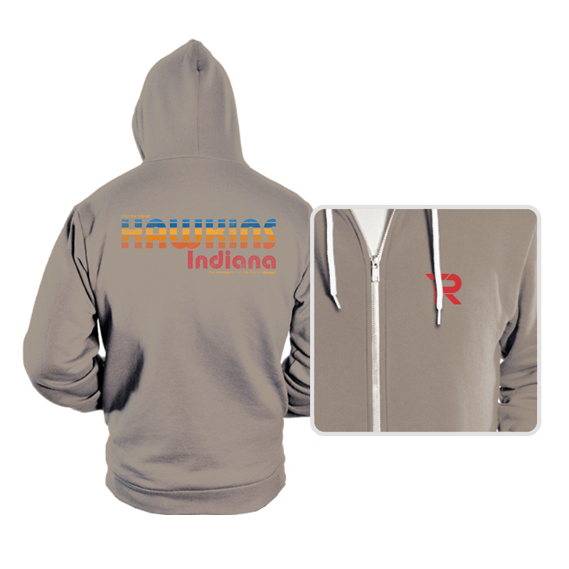 The Strangest City - Hoodies - Hoodies - RIPT Apparel