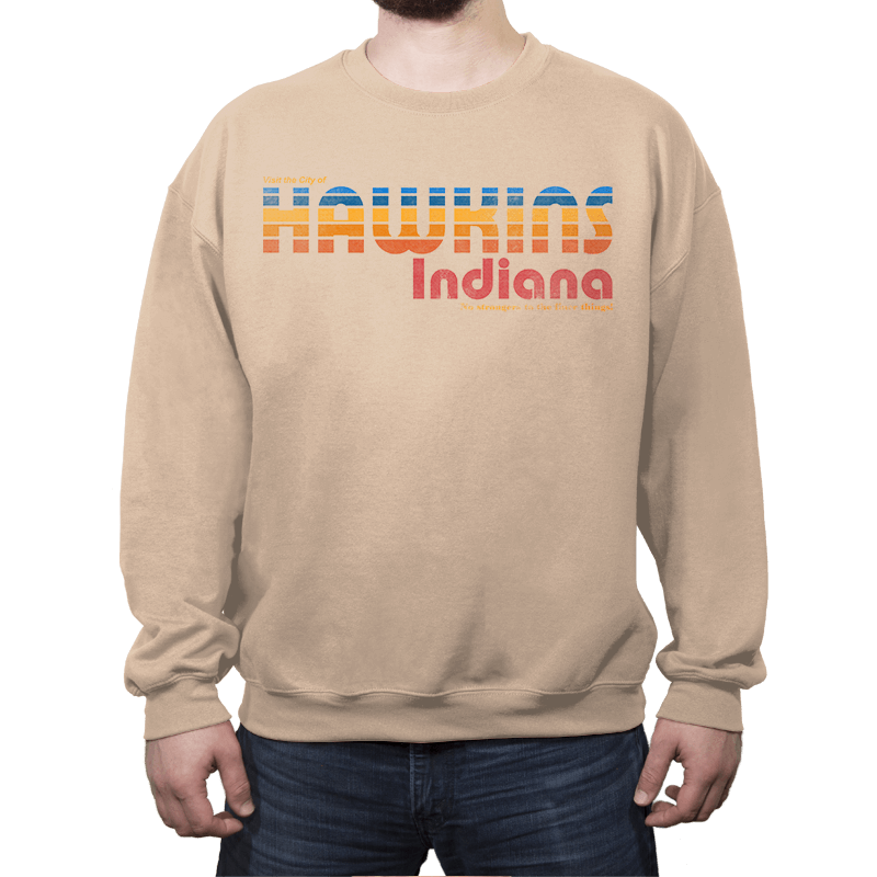 The Strangest City - Crew Neck - Crew Neck - RIPT Apparel