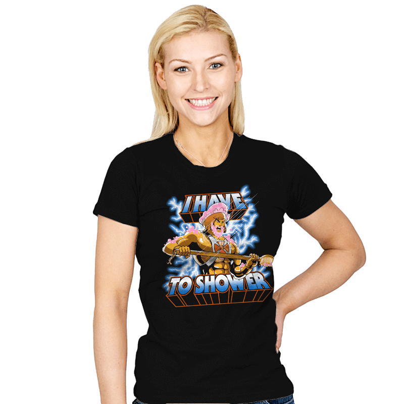 By the Shower of Greyskull - Womens - T-Shirts - RIPT Apparel