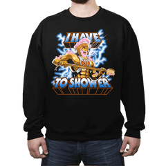 By the Shower of Greyskull - Crew Neck - Crew Neck - RIPT Apparel