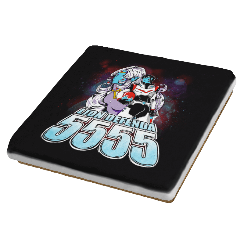 Lion Defenda 5555 - Coasters - Coasters - RIPT Apparel
