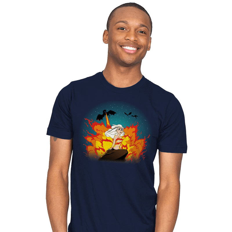 The Little Khaleesi - Mens - T-Shirts - RIPT Apparel