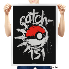 Catch-151 - Prints - Posters - RIPT Apparel