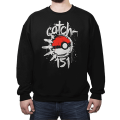 Catch-151 - Crew Neck Sweatshirt - Crew Neck Sweatshirt - RIPT Apparel