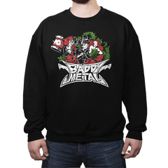 Baddy Metal Exclusive - Crew Neck - Crew Neck - RIPT Apparel