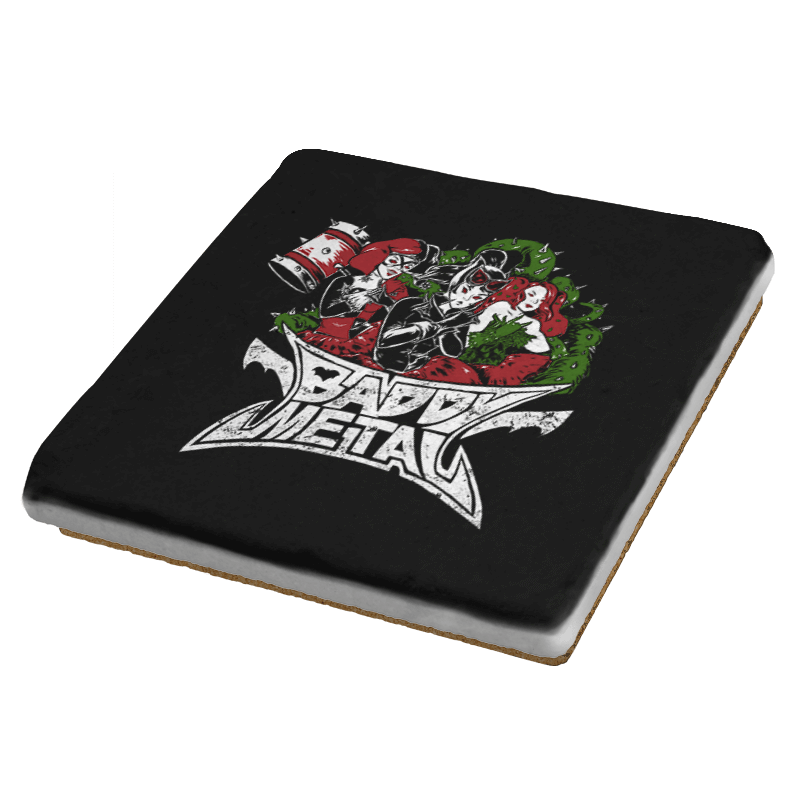 Baddy Metal Exclusive - Coasters - Coasters - RIPT Apparel