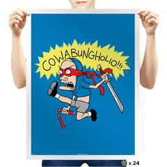 Cowabungholio Exclusive - Prints - Posters - RIPT Apparel