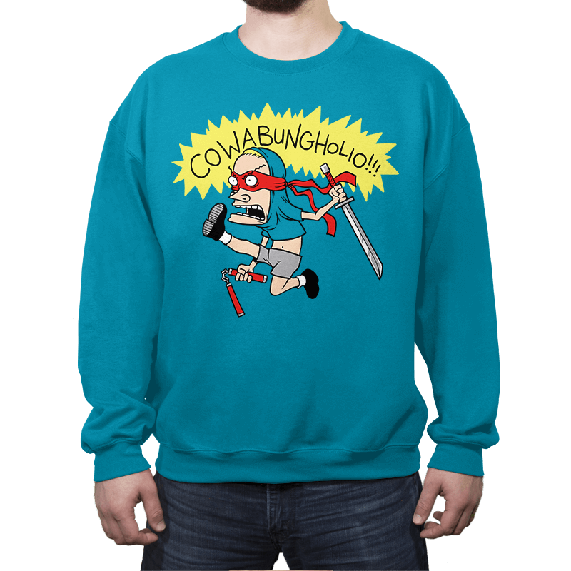 Cowabungholio Exclusive - Crew Neck - Crew Neck - RIPT Apparel