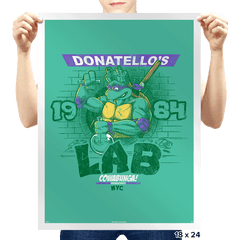 Donny's Lab Exclusive - Prints - Posters - RIPT Apparel