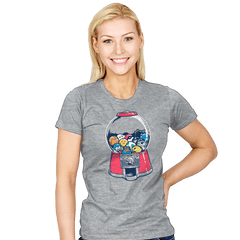 Gameball Machine Exclusive - Womens - T-Shirts - RIPT Apparel