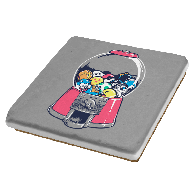 Gameball Machine Exclusive - Coasters - Coasters - RIPT Apparel