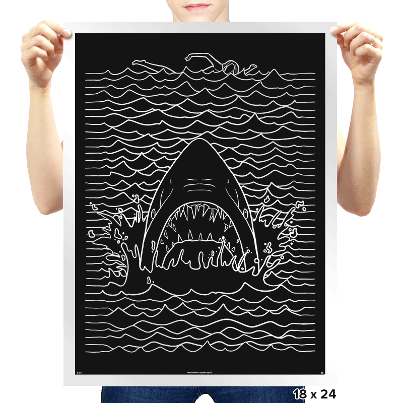 Jaw Division Exclusive - Prints - Posters - RIPT Apparel