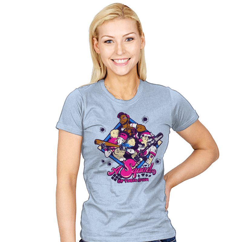 A Squad Of Their Own Exclusive - Womens - T-Shirts - RIPT Apparel